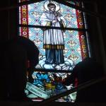 Újhartyán, templom restaurálás.